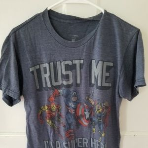 Tops - Captain America, Thor and Ironman T